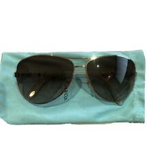 Tiffany & Co Gold Frame Sunglasses