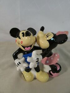Disney Mickey and Minnie Mouse Magnetic Salt and Pepper Shakers