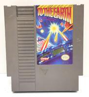 Nintendo NES To the Earth Video Game Cartridge