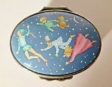 Halcyon Days Enamel Box Peter Pan Flying by J.M. Barrie Mint