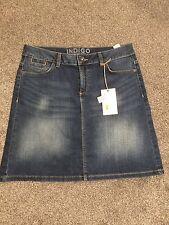 Marks & Spencer Indigo Collection Denim Mini Skirt  BNWT Size 10