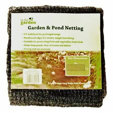 6m x 2m Garden & Pond Netting - Black Other Garden Accessories