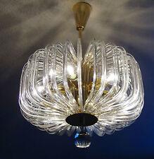 Bakalowits & Söhne Wien Deckenlampe Crystal Glass Chandelier Lüster Vienna 1960