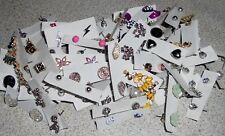 Wholesale Earrings Lot Pierced New 50 Pair Assorted Stud Enamel Rhinestone
