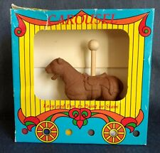 Craft-Tex, Inc. ~ CAROUSEL TIGER to Paint ~ Kit Contains Carved Animal and Base