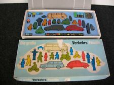 VOLKSWAGEN BUG BUS TYPE 3 VINTAGE WOOD GAME GERMANY VW BEETLE 60 ies ACCESSORIES