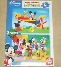 Educa Disney Mickey Mouse Clubhouse 2 x 12 pieces jigsaw puzzle 13498 new sealed