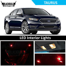 Red LED Interior Lights Replacement Package Kit for 2010-2018 Ford Taurus 8 bulb