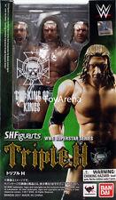 S.H. Figuarts Triple H (Paul Michael Levesque) WWE Action Figure USA SELLER