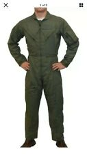 NEW Genuine USAF Nomex Flight Suit Coveralls CWU-27/P Sage Green 48L
