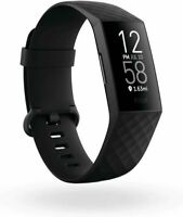 Fitbit Charge 4 One Size Health and Fitness Tracker Black
