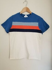 NWT HANNA ANDERSSON  COLORBLOCK SHORT SLEEVE  TEE SHIRT 140 10
