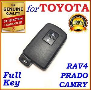 FOR TOYOTA SMART KEY RAV4 / COROLLA / CAMRY / PRADO - 2 BUTTONS - OEM BOARD