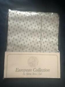 "SFERRA BROS. LTD 100% Egyptian Cotton European Sham 26"" x 26"" NEW IN THE Package"