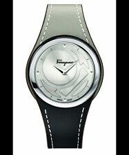 Ferragamo Gancino Chic Silver Dial Ladies Two Tone Watch FID010015
