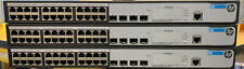 3 Used Working HP JG926A 1920-24G-PoE+ (370W) Switches - Free Shipping!