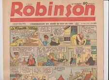 ROBINSON n°205 - 31 mars 1940.  L'hebdomadaire des jeunes