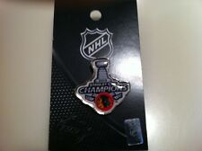 2013 Stanley Cup Champions NHL Hockey Chicago Blackhawks Lapel Pin Button Hunter
