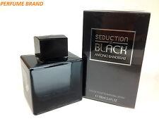 Seduction In Black by Antonio Banderas 3.3 / 3.4 100ml Spray For Men