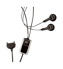 NEW Original Nokia HS-23 HS23 Stereo Headset Black earbud double in ear only