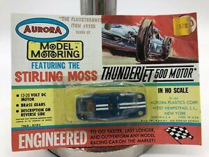 """MOC Aurora Model Motoring Thunder Jet T-Jet Blister Card! """"The Flamethrowers"""""""
