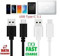 1/2M 3A Fast USB 3.0 To Type C Data Sync Charger Cable For Samsung Galaxy S8/S9+