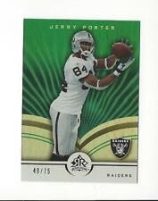 2005 Reflections Green #69 Jerry Porter Raiders /75