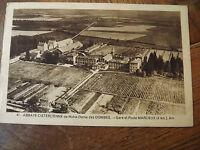 carte postale 01 abbaye de notre dame des DOMBES Gare et poste MARLIEUX