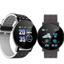 OLED Bluetooth Smartwatch D18-2 Pulsuhr IP66 wasserdicht iOS Android Huawei LG