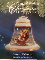 Christmas Treasures Precious Moments Santa w/Reindeer Xmas Ornament $62@ Macy's