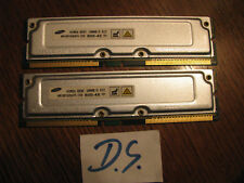 (228) 2xSamsung MR16R0828BN1-CK8 128MB RAMBUS 800-45 =256GB