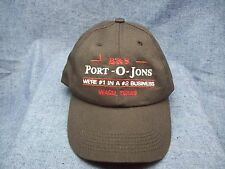 Advertisement B & S Port O Jons Potty #1 in a #2 Business Waco TX Snapback Cap