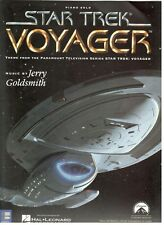 STAR TREK VOYAGER PIANO SOLO SHEET MUSIC BY JERRY GOLDSMITH-1995-NEW ON SALE!!