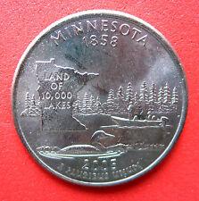 """B/Universel état américain TRIMESTRE 2005 """"Minnesota"""" Menthe D"""