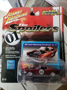 Johnny Lighting 65 Ford Mustang Fastback The Spoilers  Street Freaks 1:64