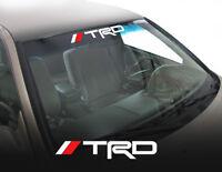 Toyota TRD Windshield Vinyl Decal Truck Tacoma Tundra Logo