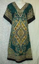 Women Clothing Long Dress Caftan Gown Royal Blue Doesn't Come L XL 1X 2X 3X 4X