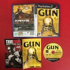 (PS2) GUN (ITA 2005 PAL) Sony PlayStation 2 + Manuale GIOCO GAME