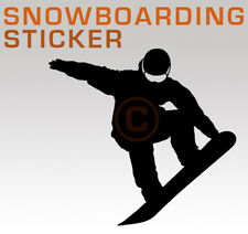 Snowboard Fahrer Silhouette Aufkleber Sticker • no burton nitro head jacke hose