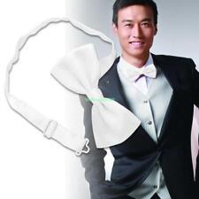 Men's Formal Polka Tuxedo Wedding Bow Tie Necktie White 5082570