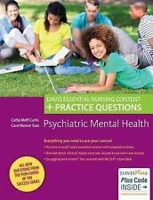 Psychiatric Mental Health Nursing : Content Review Plus Practice Questions by...