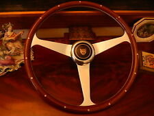 Jaguar  XJ6  XJ40 1986 - 1989  Wood Steering Wheel NARDI  NOS New 15""