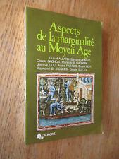 Aspects de la marginalité au Moyen Âge Alchimiste Mendiants 1975