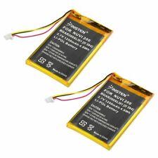 2pcs 1250mAh Battery for GPS Garmin Nuvi 760T 775T
