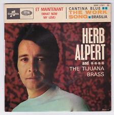EP 45 TOURS HERB ALPERT ET MAINTENANT COLUMBIA ESRF 1787 BIEM avec languette