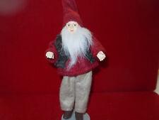 Dollhouse Doll 1:12 European Style Handmade Handmade Elf Man w Beard Doll