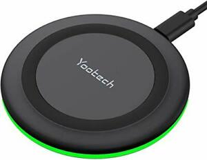 Yootech Wireless Charger Qi-Certified 10W Max Fast Wireless Charging Pad Comp...