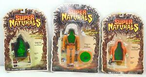 SUPER NATURALS 1986 Supernaturals MOC Tonka Lot Eagle Eye Weird Wolf figures