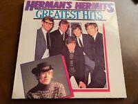 HERMAN'S HERMITS GREATEST HITS VINYL LP MUSIC WORLD
