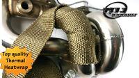 1m Titanium Heatwrap Top Quality High Temp Exhaust Manifold Downpipe Heat Wrap